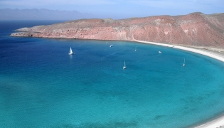 The Hook at Isla San Francisco in the Sea of Cortez