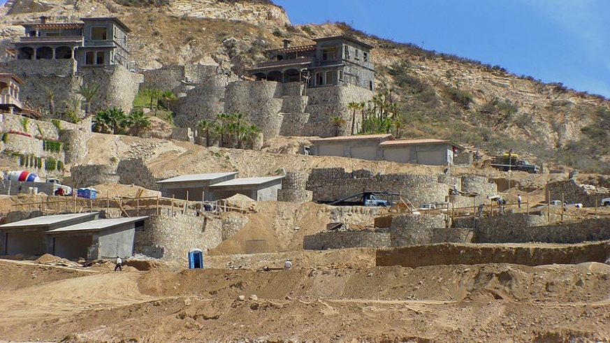 Construction in Baja California Sur